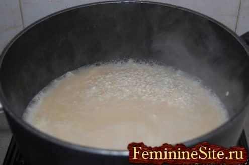 Рисовые шарики рецепт: добавляем бульон