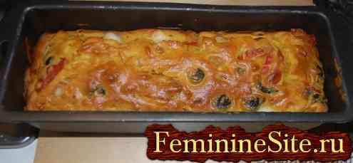 Пирог с перцем