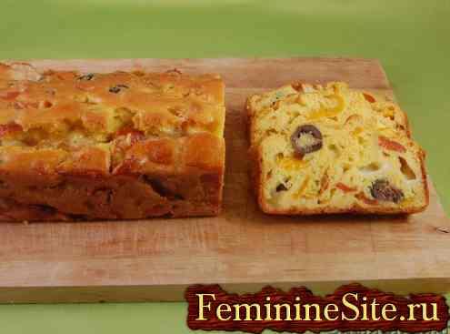 Пирог с перцем — рецепт с фото