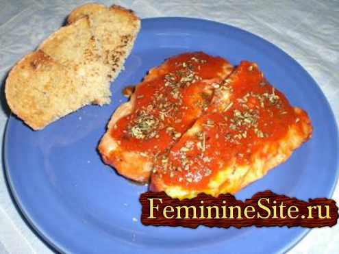 приготовление рыбы трески с помидорами - рецепт с фото