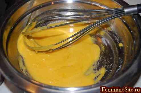 Как готовить заварной крем. Фото