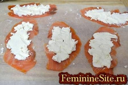 семга с сыром филодельфия