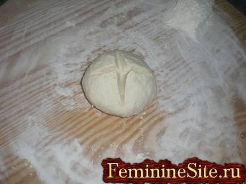 Слоеное тесто рецепт с фото - замесить тесто