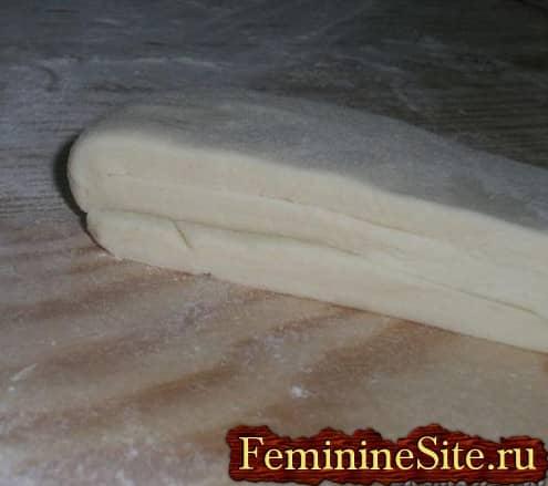 Слоеное тесто рецепт с фото