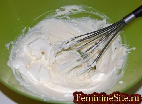 Рецепт чизкейка в домашних условиях - добавить сыр