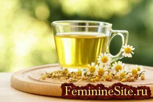 Чай из ромашки – пейте, полощите и выздоравливайте!