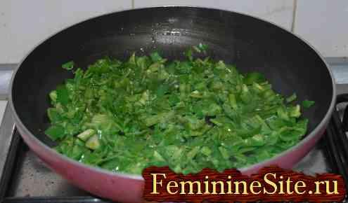 Как готовить фрикадельки с зеленым перцем