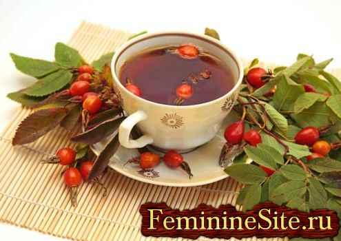 Чай из шиповника - эликсир здоровья,  проверенный веками.