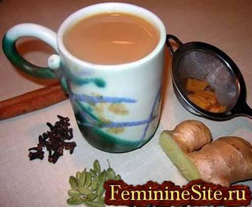 Чай на молоке или чай Масала
