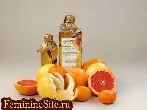 Цитрусовые эфирные масла - полезные свойства, противопоказания.