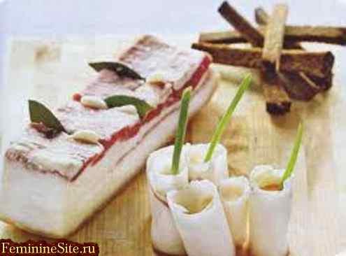 Свиное сало - польза или вред. Полезные свойства сала.