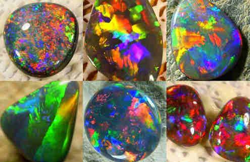 Драгоценный камень опал