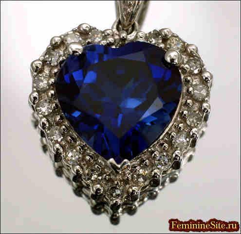 чай синий алмаз