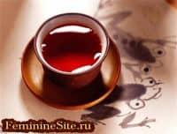 Вид чая красный