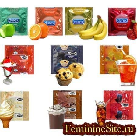 презерватив со вкусами