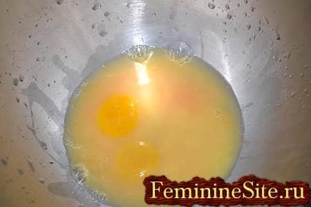 бзбиваем яйца